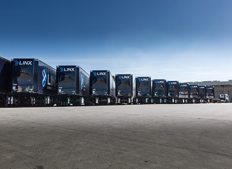 Improve the safety and efficiency of its national linehaul fleet