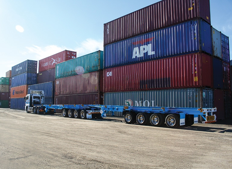 Growing cost of container transport